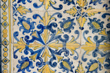 Portuguese Tiles, Jesuit Cathedral Basilica, Salvador, Bahia, Brazil, Photographic Print by Cindy Miller Hopkins