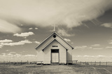 Church, 1880 Town, Pioneer Village, Stamford, South Dakota, USA Photographic Print by Walter Bibikow