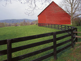 Barn Near Etlan, Virginia, USA Photographic Print by Charles Gurche