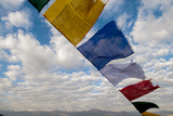 Rayer Flags, Leh, Ladakh, India Photographic Print by Ellen Clark