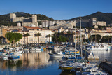 City View from Port Tino Rossi, Ajaccio, Corsica, France Photographic Print by Walter Bibikow