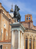 The Bartolomeo Colleoni Equestrian Statue, Venice, Italy Photographic Print by Terry Eggers