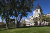 South Dakota State Capitol Exterior, Pierre, South Dakota, USA Photographic Print by Walter Bibikow