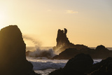 Sea Stacks Along Coast of Chiloe, Punihuil, Region Los Lagos, Chile Photographic Print by Fredrik Norrsell