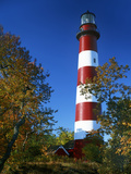 Assateague Lighthouse, Assateague Island, Virginia, USA Photographic Print by Charles Gurche