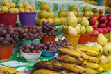 Local Fruit and Vegetables at a Market in San Juan Chamula, Mexico Photographic Print by Michel Benoy Westmorland