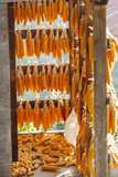 Corn Hung to Dry, Rize, Black Sea Region of Turkey Photographic Print by Ali Kabas