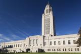Nebraska State Capitol Exterior, Lincoln, Nebraska, USA Fotodruck von Walter Bibikow