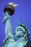 Close-Up of the Statue of Liberty, New York, USA Photographic Print by Peter Bennett