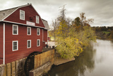 The War Eagle Mill, Old Gristmill, War Eagle, Arkansas, USA Fotoprint av Walter Bibikow
