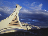 Olympic Stadium, Montreal, Quebec, Canada Photographic Print by Walter Bibikow