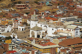 Township of Copacabana, Bolivia Photographic Print by Anthony Asael