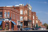 Downtown Historic Buildings, Guthrie, Oklahoma, USA Photographic Print by Walter Bibikow