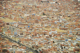 Aerial View of Housing Development, El Alto, Bolivia Photographic Print by Anthony Asael