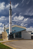 Kansas Cosmosphere and Space Center Exterior, Hutchinson, Kansas, USA Photographic Print by Walter Bibikow