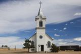 Church, 1880 Town, Pioneer Village, Stamford, South Dakota, USA Photographic Print by Walter Bibikow