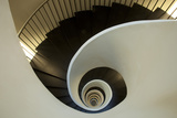 Spiral Staircase, Silken Gran Hotel Domine, Bilbao, Spain Photographic Print by  Jaynes Gallery