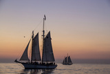 Sunset Cruise on the Western Union Schooner in Key West Florida, USA Photographic Print by Chuck Haney