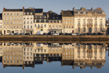 Bassin Du Commerce, Cherbourg-Octeville, Normandy, France Photographic Print by Walter Bibikow
