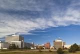 Topeka City Skyline, Kansas, USA Fotografie-Druck von Walter Bibikow