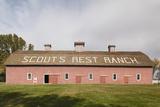 Scout's Rest Ranch, North Platte, Nebraska, USA Fotografie-Druck von Walter Bibikow