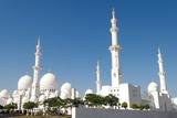 Sheikh Zayed Grand Mosque, Abu Dhabi, UAE Fotografie-Druck von Bill Bachmann