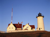 Nobska Lighthouse, Woods Hole, Cape Cod, Massachusetts, USA Photographic Print by Walter Bibikow