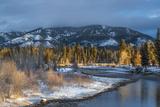 Blackfoot River at Sunrise Near Ovando, Montana, USA Photographic Print by Chuck Haney