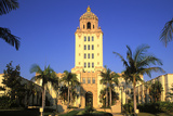 Beverly Hills City Hall, California, USA Photographic Print by Peter Bennett