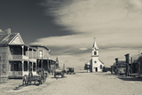 1880 Town, Pioneer Village, Stamford, South Dakota, USA Photographic Print by Walter Bibikow