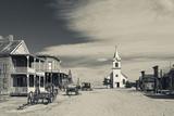 1880 Town, Pioneer Village, Stamford, South Dakota, USA Photographic Print by Walter Bibikow