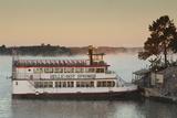 Belle of Hot Spring, Tour Boat at Dawn, Hot Springs, Arkansas, USA Fotografie-Druck von Walter Bibikow