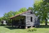 Slave Cabin, Vacherie, New Orleans, Louisiana, USA Fotografisk tryk af Cindy Miller Hopkins