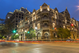 The Historic Driskell Hotel at Dusk, Austin, Texas, USA Photographic Print by Chuck Haney