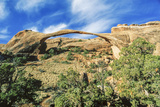 Landscape Arch, Arches National Park, Utah, USA Photographic Print by Ali Kabas
