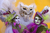 Elaborate Costumes for Carnival Festival, Venice, Italy Photographic Print by  Jaynes Gallery