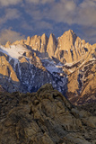Sunrise on Mt Whitney, California, USA Photographic Print by  Jaynes Gallery