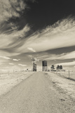 Farm, 1880 Town, Pioneer Village, Stamford, South Dakota, USA Photographic Print by Walter Bibikow