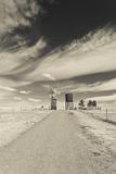 Farm, 1880 Town, Pioneer Village, Stamford, South Dakota, USA Photographic Print by Walter Bibikow