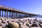 Ventura Pier, Ventura County, California, USA Photographic Print by Peter Bennett