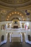 South Dakota State Capitol Interior, Pierre, South Dakota, USA Photographic Print by Walter Bibikow