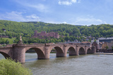 Carl Theodor Bridge, Heidelberg Castle, Baden-Wurttemberg, Germany Photographic Print by Jim Engelbrecht