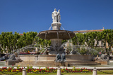 The Ornate Rotonde Fountain in Aix-En-Provence, France Photographic Print by Brian Jannsen