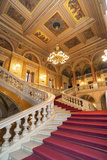 Opera House Staircase, Budapest, Hungary Photographic Print by Jim Engelbrecht