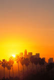 Los Angeles Skyline, California, USA Photographic Print by Peter Bennett