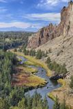 Crooked River, Smith Rock State Park, Oregon, USA Photographic Print by Jamie & Judy Wild
