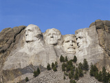 Mount Rushmore National Monument, Keystone, South Dakota, USA Photographic Print by Walter Bibikow