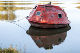 Submersible in Belle River, Atchafalaya Basin, Louisiana, USA Photographic Print by Alison Jones
