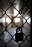 Infamous Nm State Pen, Santa Fe, New Mexico, USA Photographic Print by Julien McRoberts