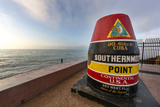 Buoy Monument, Key West Florida, USA Photographic Print by Chuck Haney